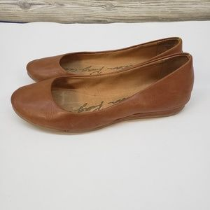 American Rag Brown Vegan Leather Flats